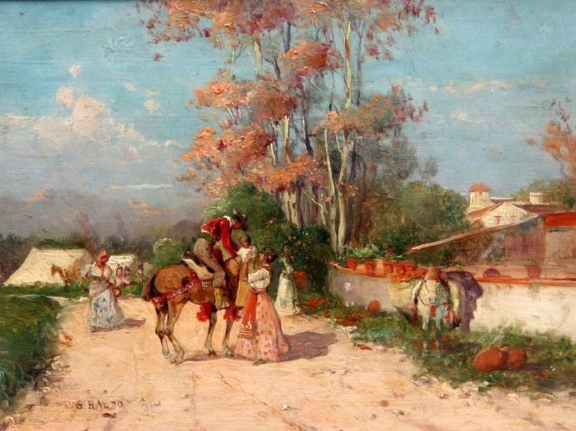 Gino Baldo. Le cavalier espagnol (1924)