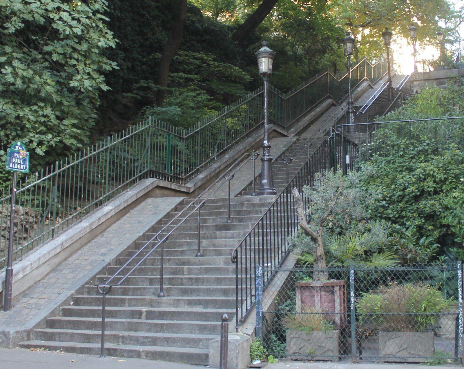 Montmartre. Rue Paul Albert. Crimes et faits divers du passé.