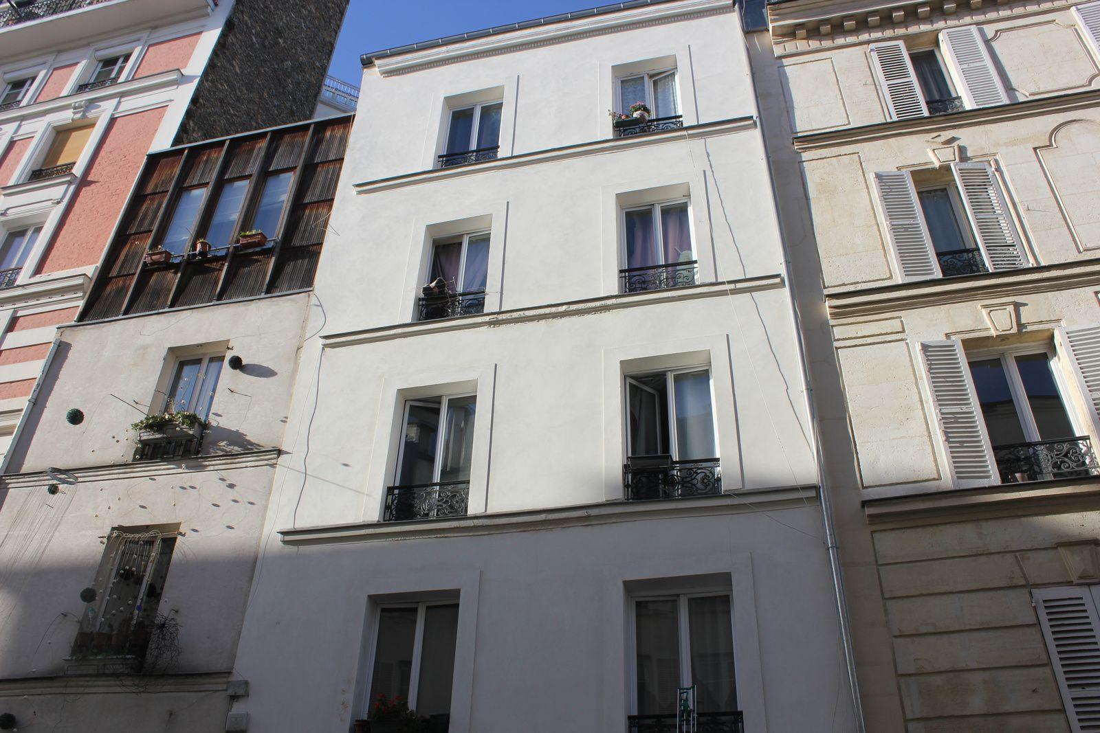 Le 26. 2ème étage, appartement de Chaumel.