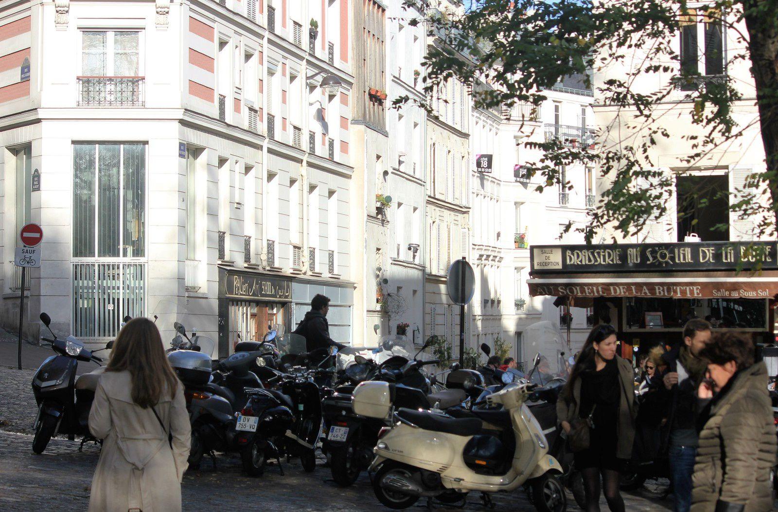 Rue Feutrier. Montmartre. Crimes et faits divers de 1880 à 1940.