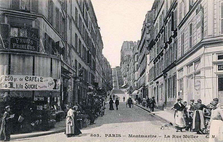 Croisement Muller-Feutrier.