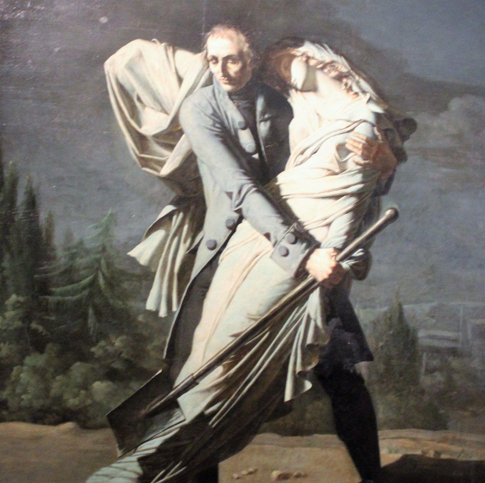 L'Effroi. Musée de la Vie Romantique.