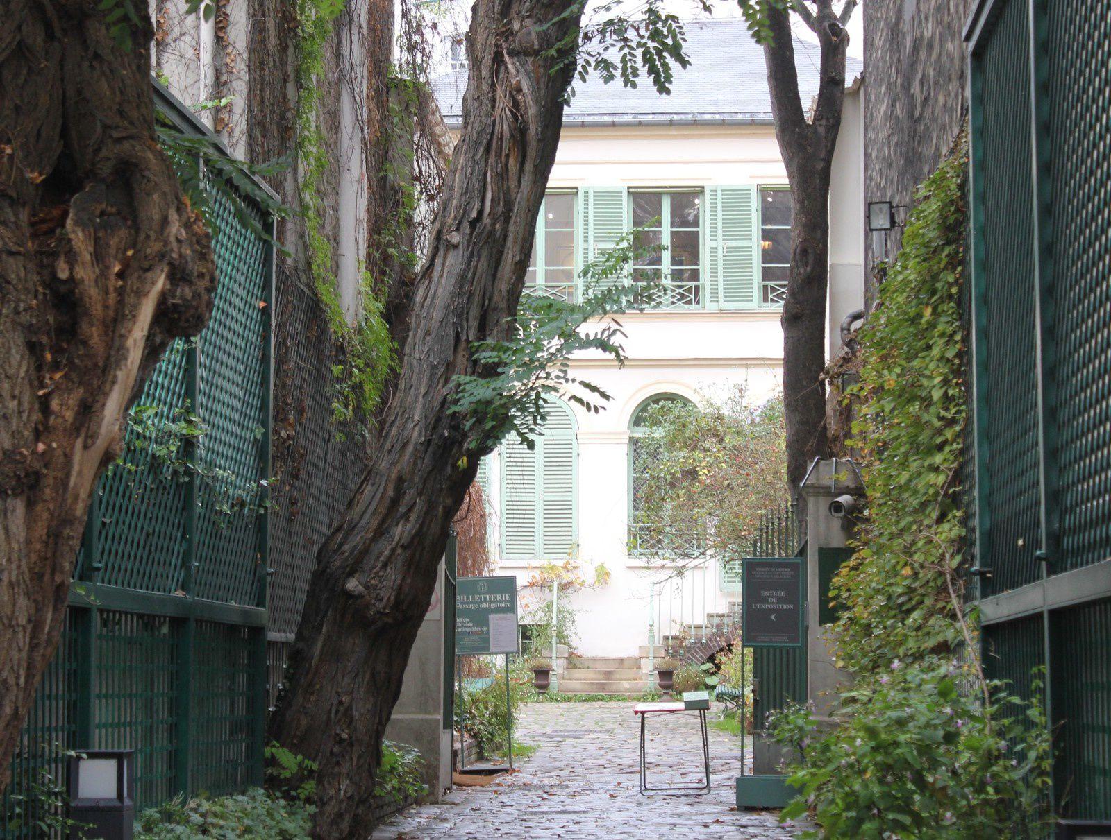 Le musée de la Vie romantique.