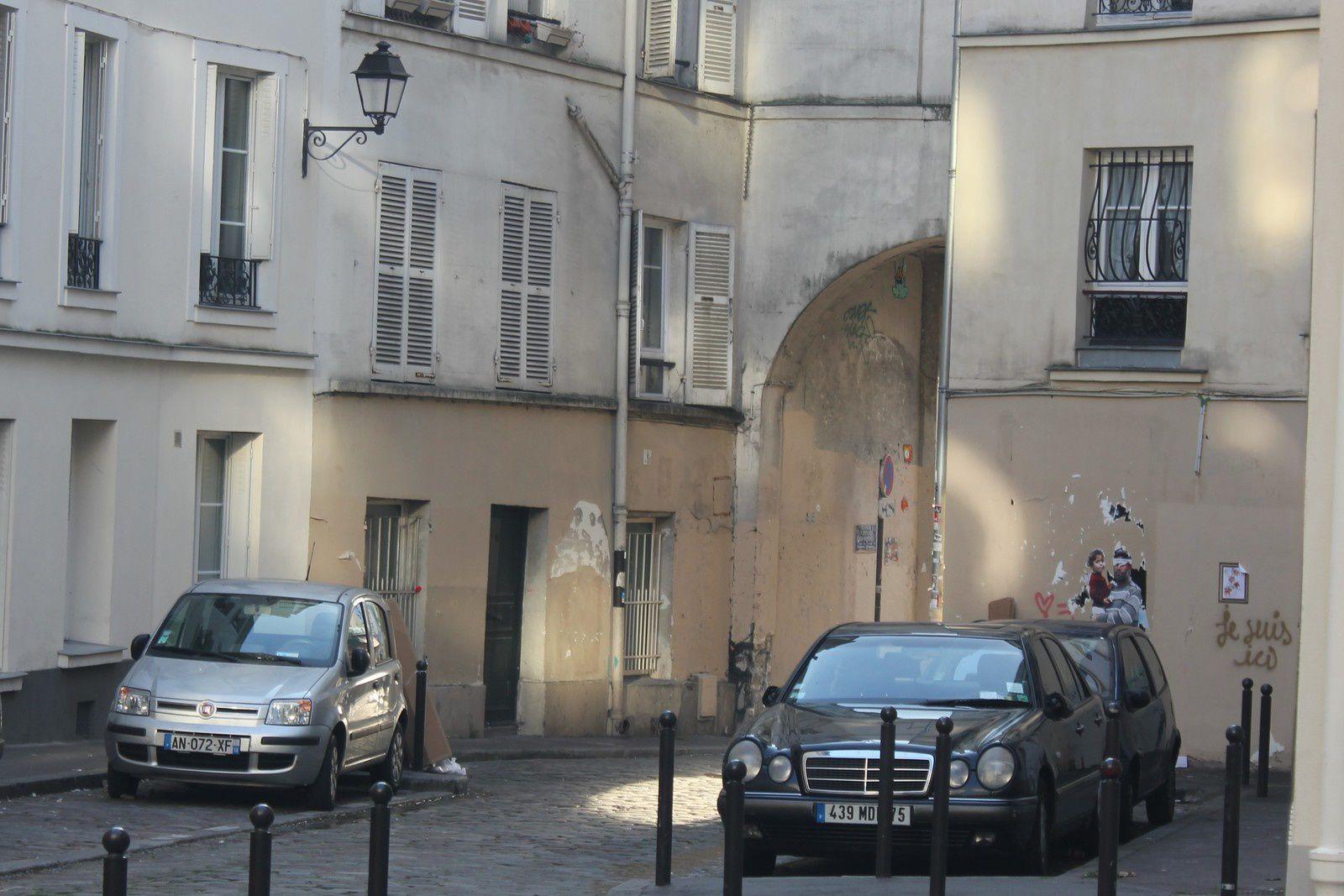Passage des Abbesses. Montmartre. Crimes et faits divers.