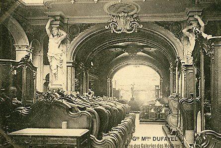 La galerie des meubles des Grands Magasins Dufayel