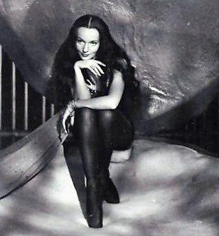 Ludmila Tchérina. Cimetière Montmartre.