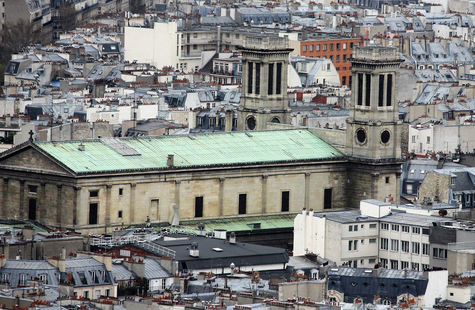 Montmartre. Le Sacré-Coeur. Le dôme. Ascension et découvertes.