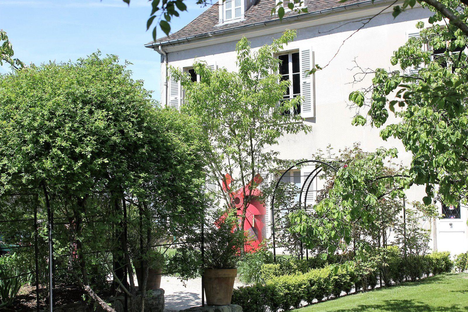 Jardins Renoir. Musée de Montmartre rue Cortot.