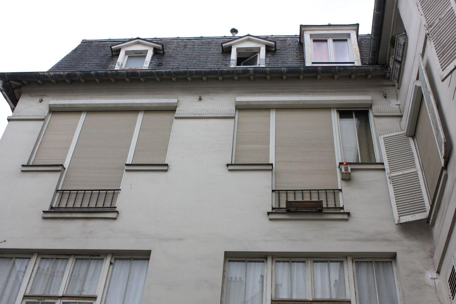 1er étage, atelier éphémère de Braque.