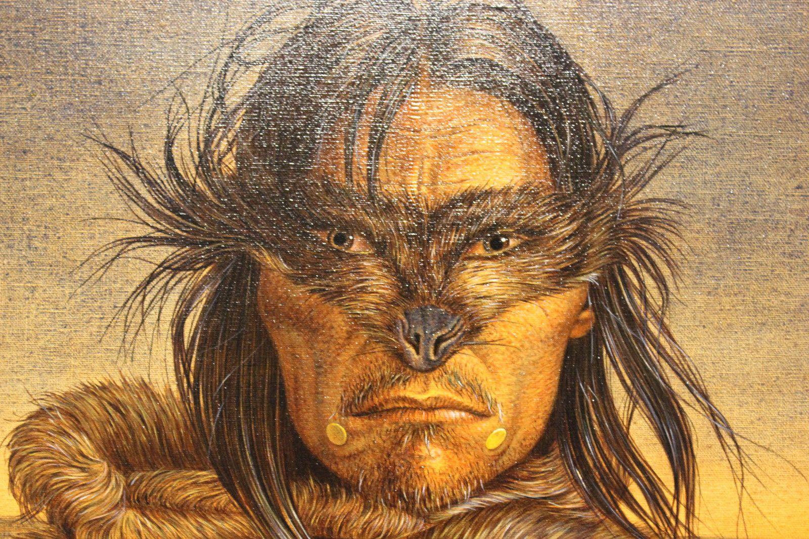 Portraits indiens. Antoine Tzapoff. La Rochelle. Musée du Nouveau Monde.