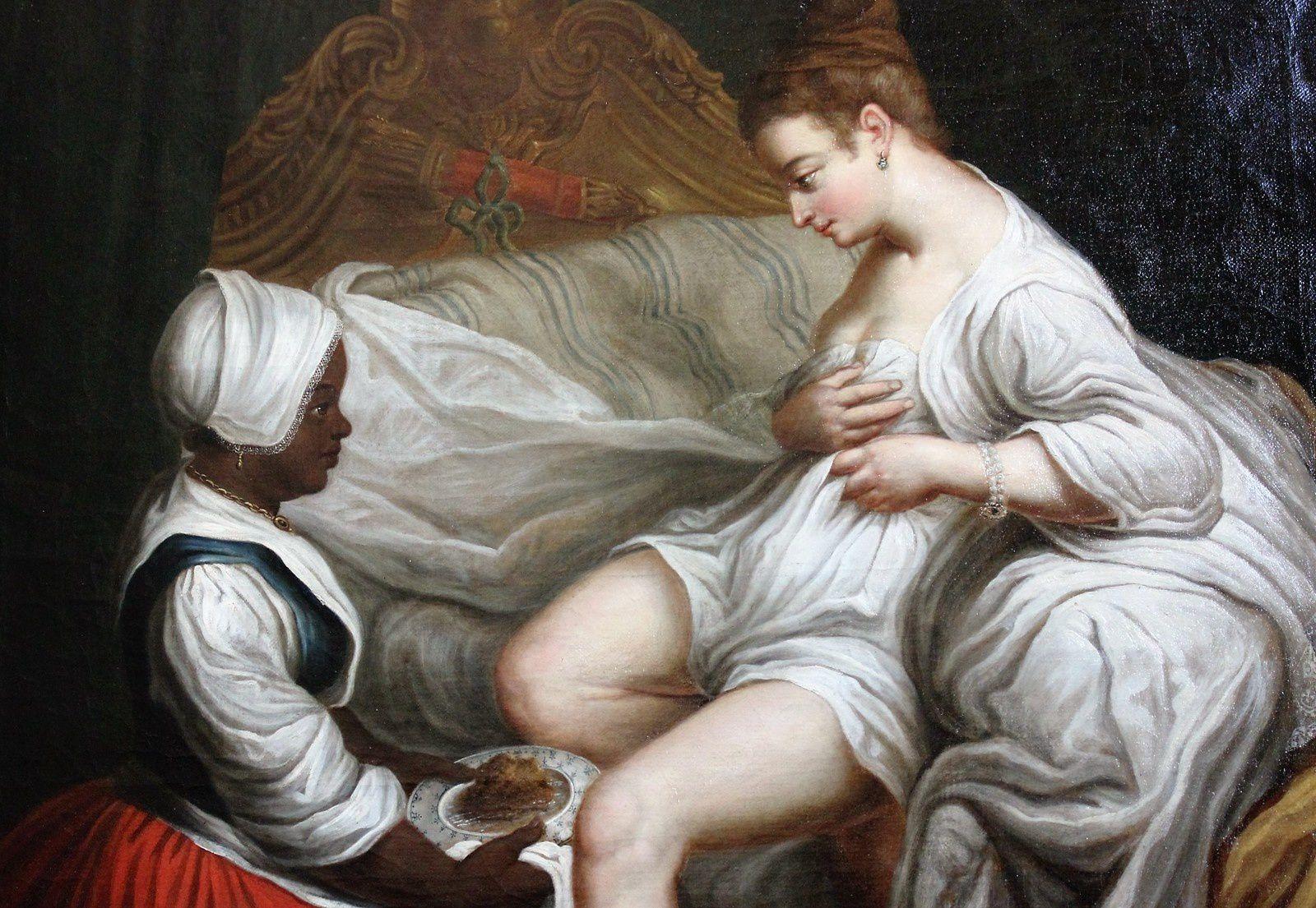 La toilette intime. Musée du Nouveau Monde. La Rochelle.