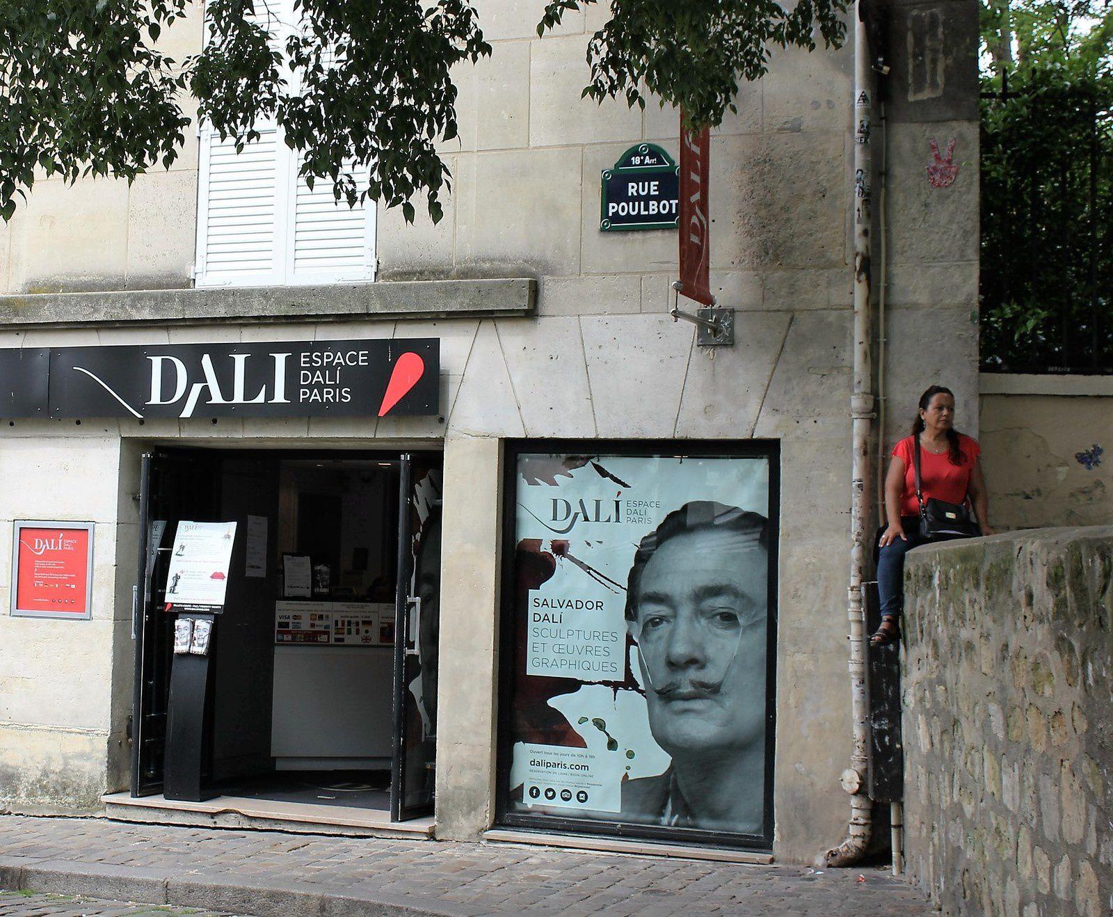 Dali. Musée de Montmartre. Sculptures. (1ère partie). Minotaure, Vénus, Saint Georges...