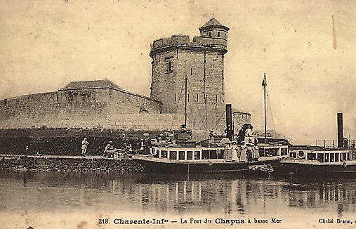 Fort Louvois. Visite du fort. Le chapus. Bourcefranc.