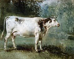 Troyon le peintre des vaches. Cimetière Montmartre.