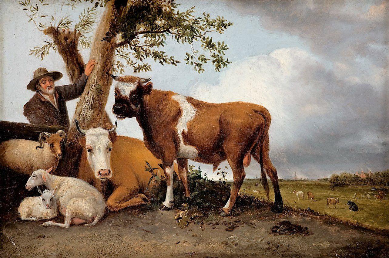 """Paulus Potter """"Jeune taureau""""."""