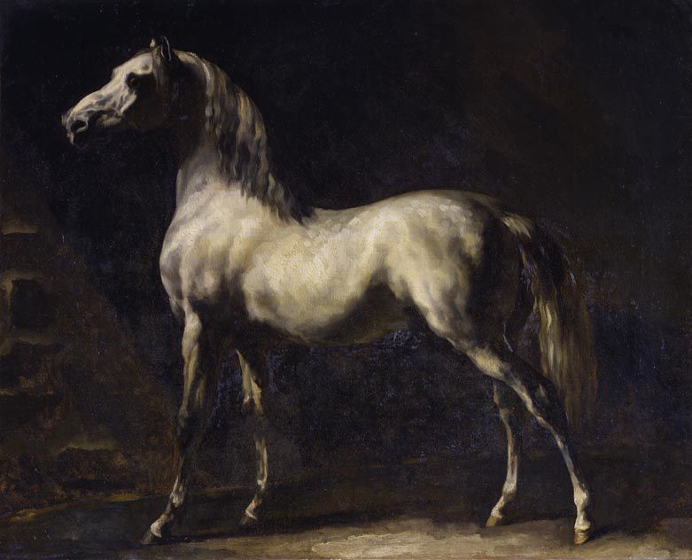 Géricault Cheval gris