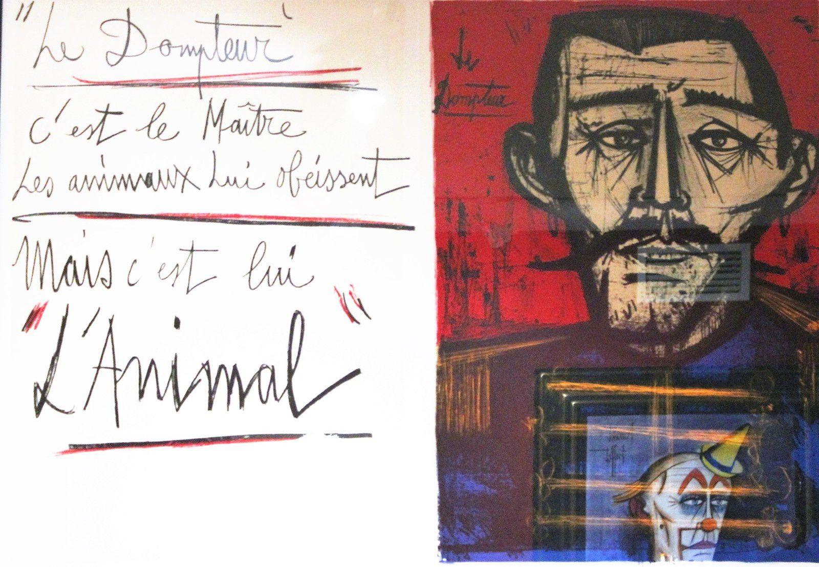 Bernard Buffet. Exposition au Musée de Montmartre