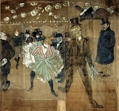 Valentin le désossé. Partenaire de La Goulue au Moulin rouge.