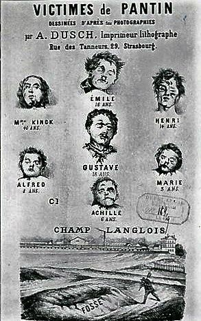 Les crimes de Troppmann. Musée de Montmartre.