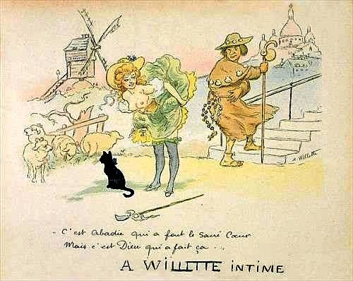 Dessin de Willette.