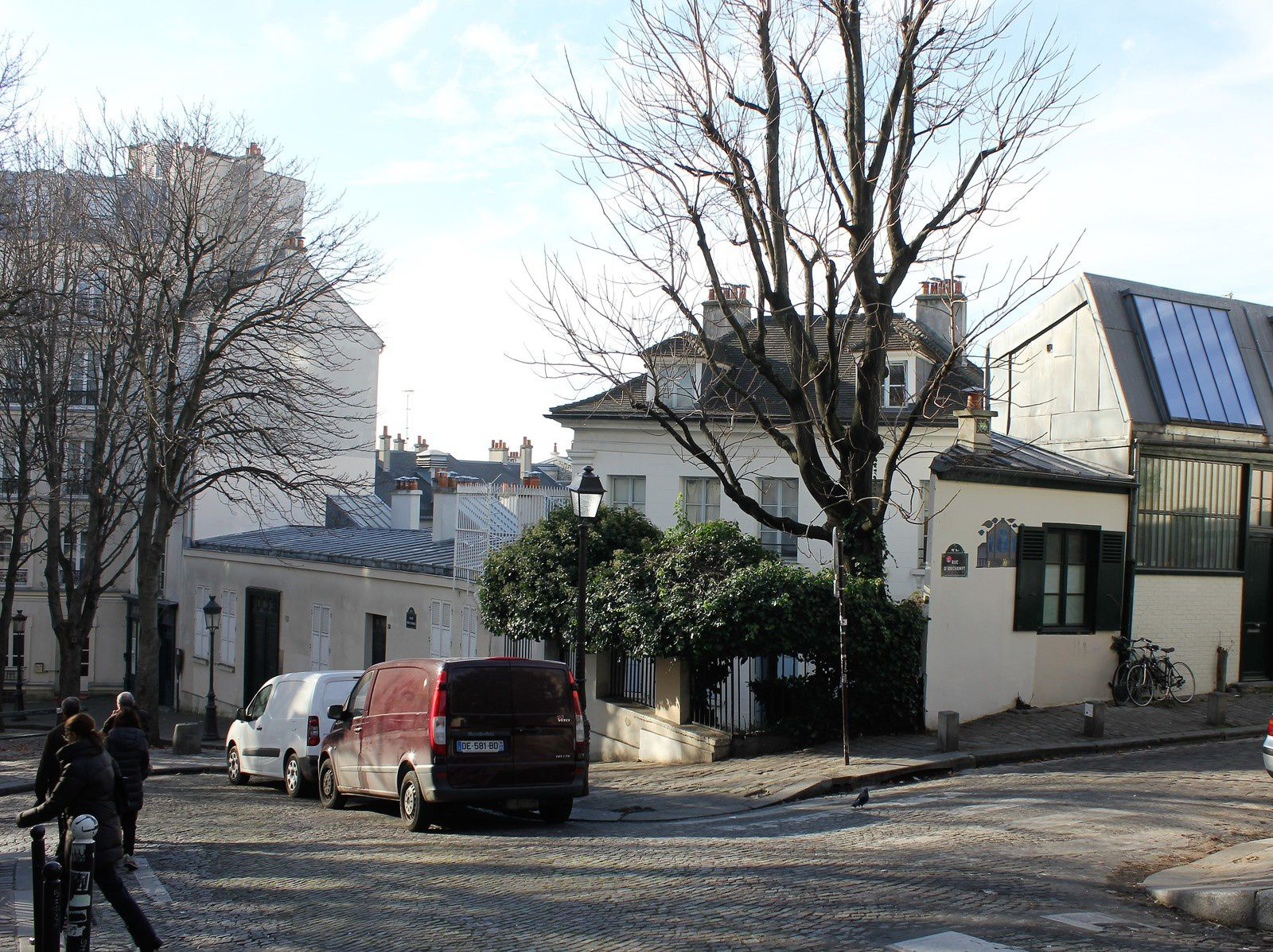 Fernande Olivier et Picasso à Montmartre.