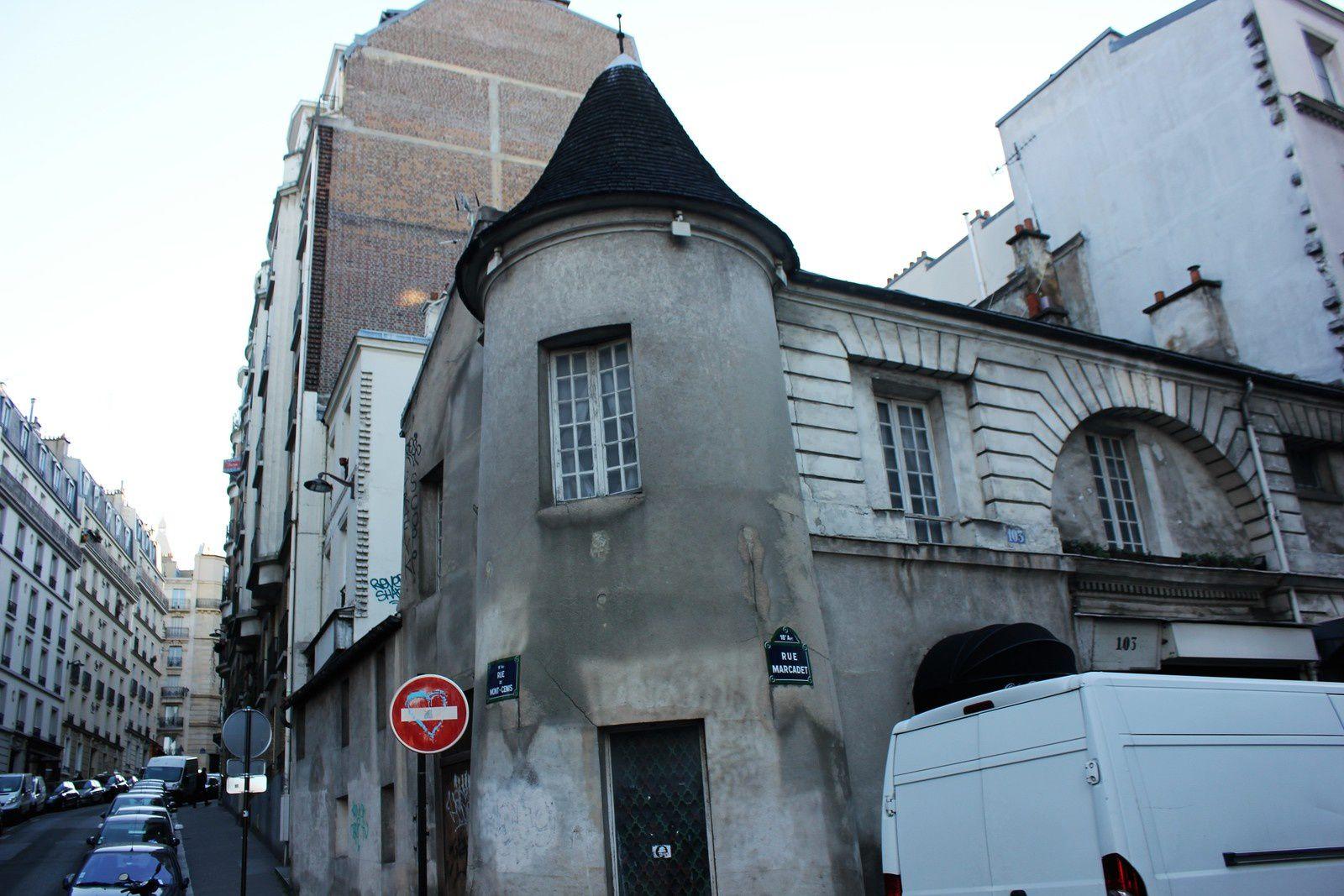 Manufacture de Clignancourt. Rue du Mont Cenis et Marcadet.