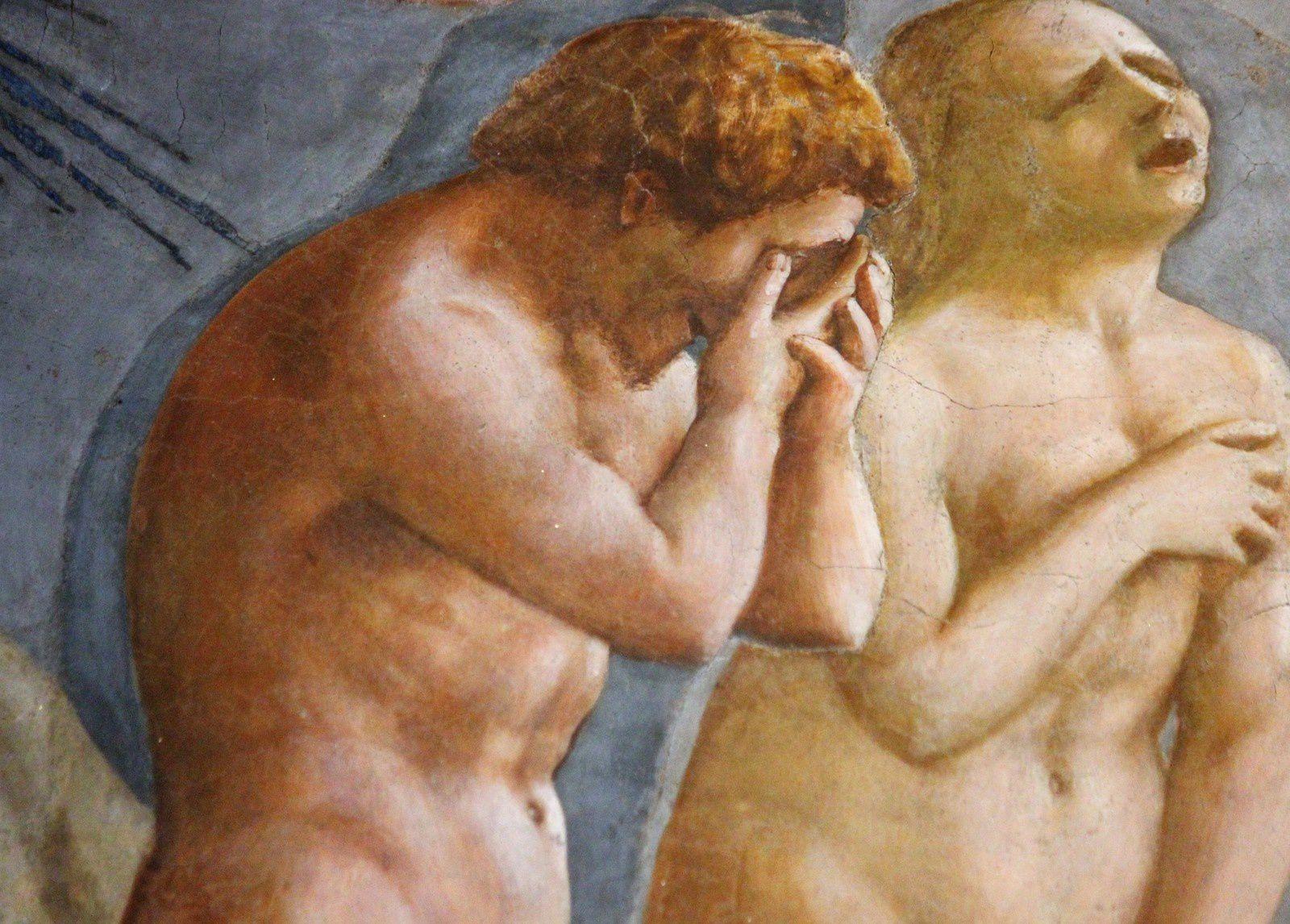 Masaccio. Capella Brancacci.