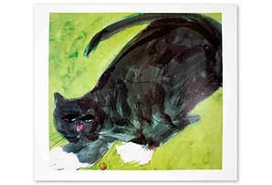 Walasse Ting. Les chats.