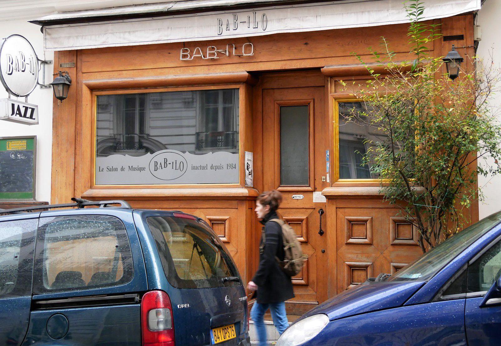 Rue du Baigneur. Montmartre.