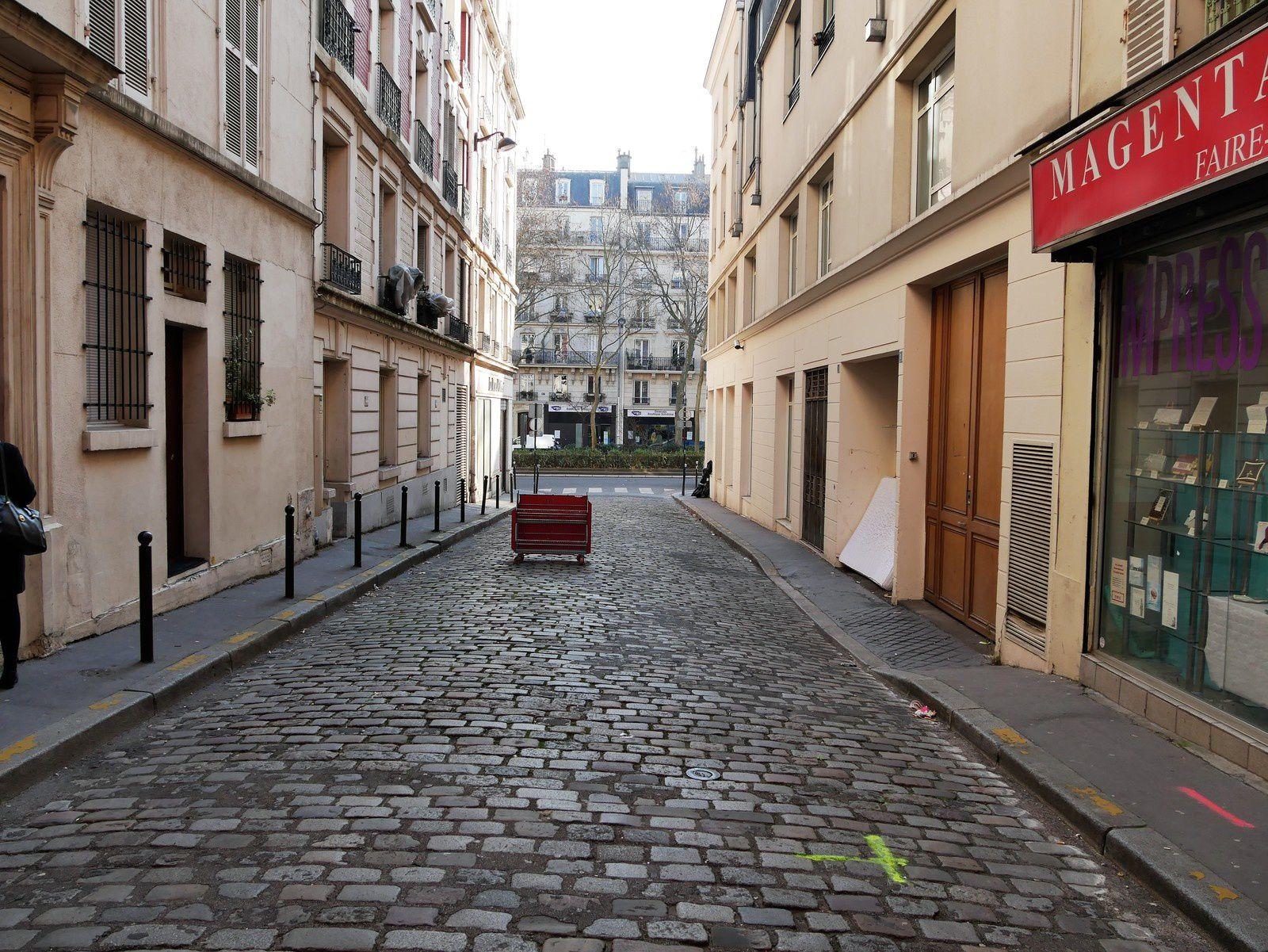 Impasse du Cadran. Montmartre.