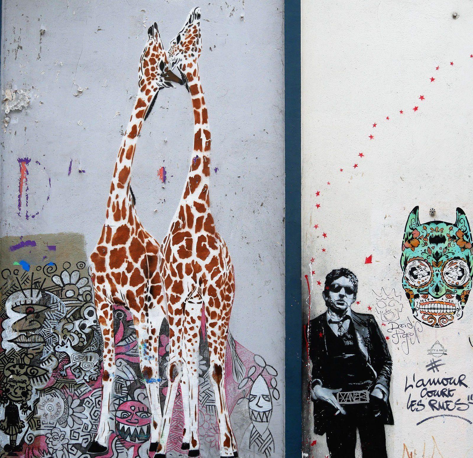 Street art. Montmartre. Février 2017.