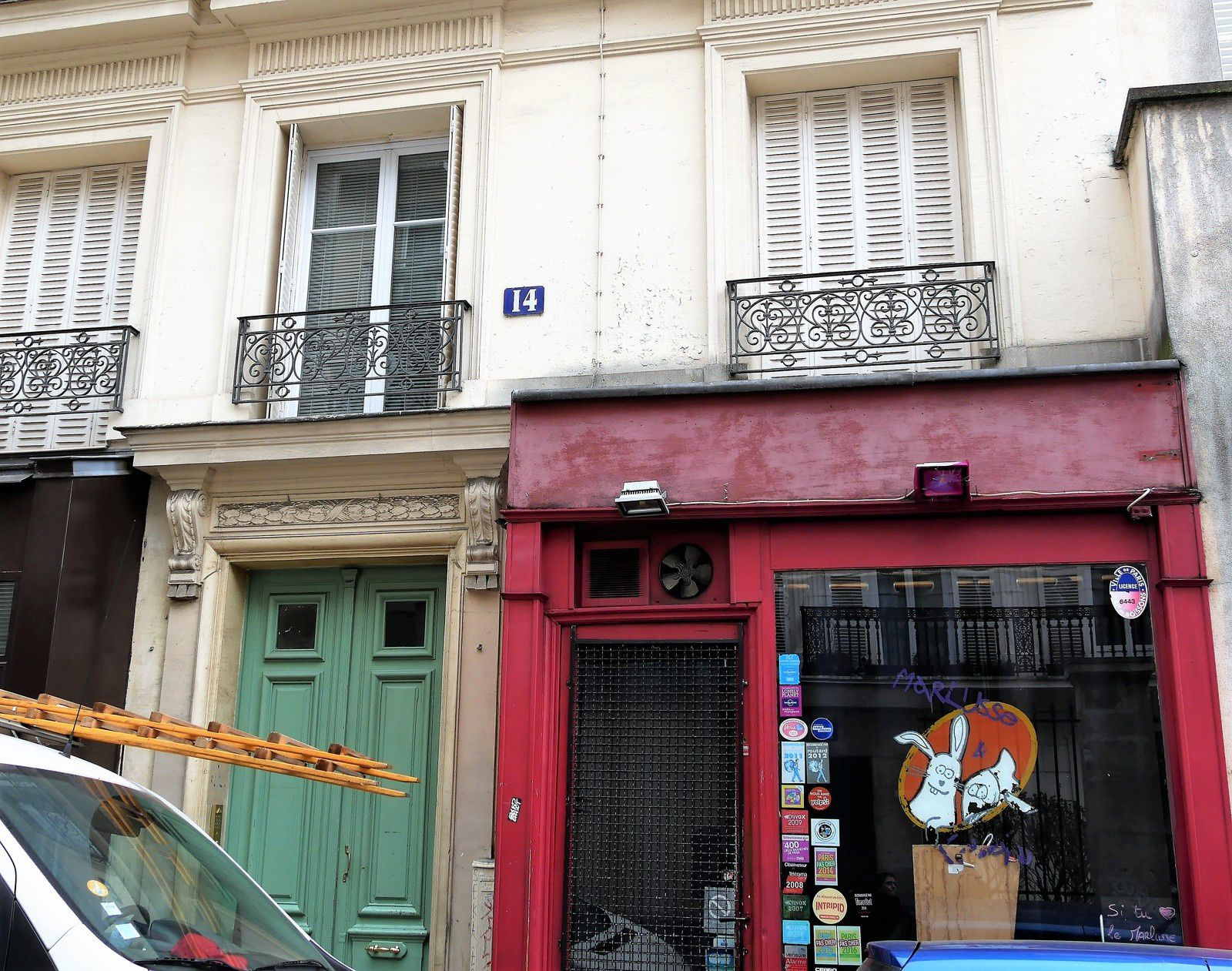 14 rue Germain Pilon