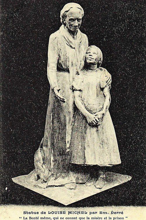 Statue de Derré.