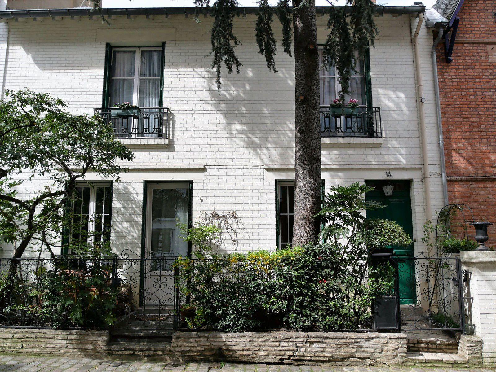 La villa Léandre. Montmartre.