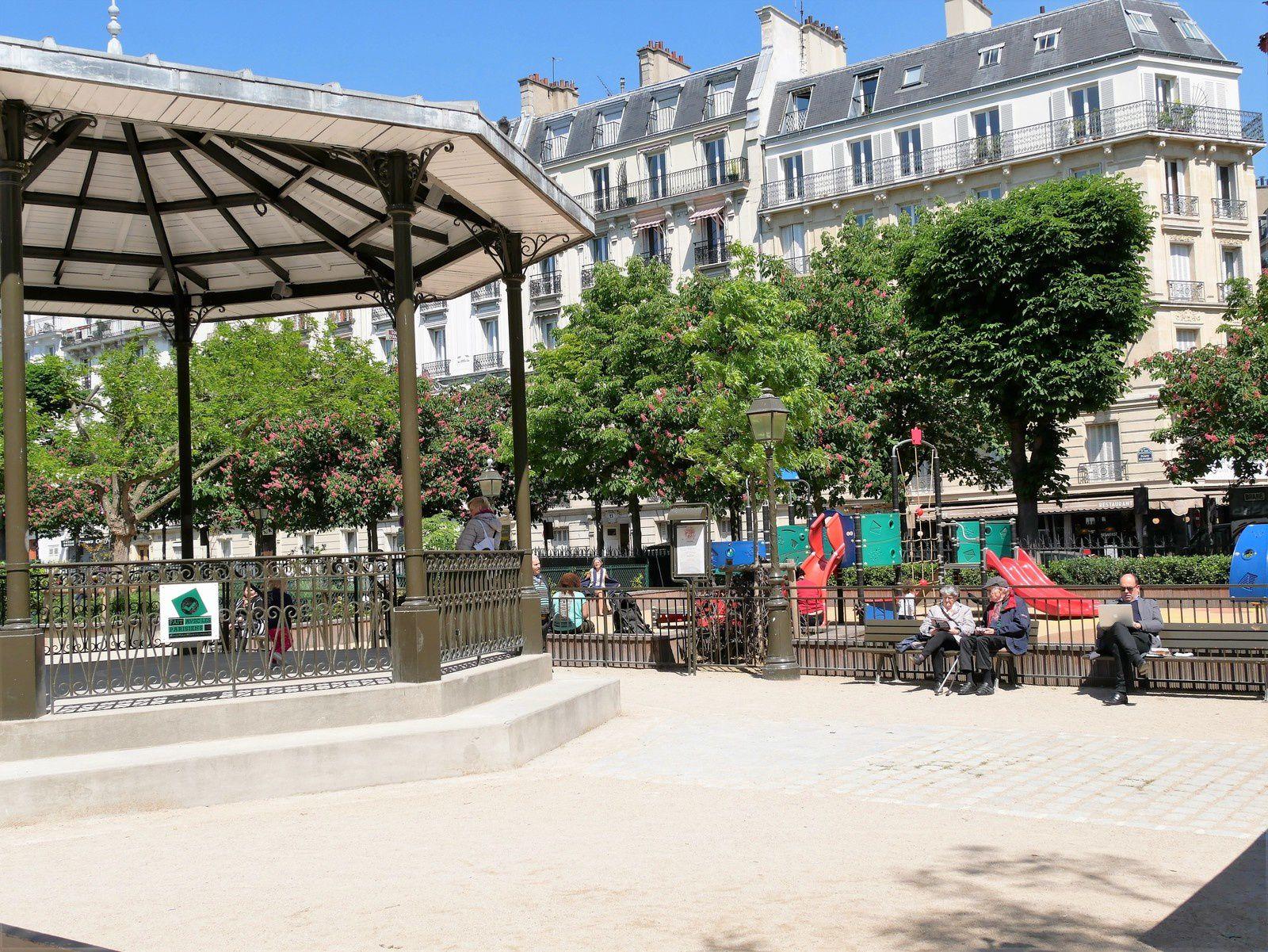 Avenue Trudaine. Montmartre. (1) Côté pair.