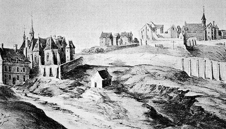 Abbaye de Montmartre (abbaye d'en-haut et abbaye d'en-bas)