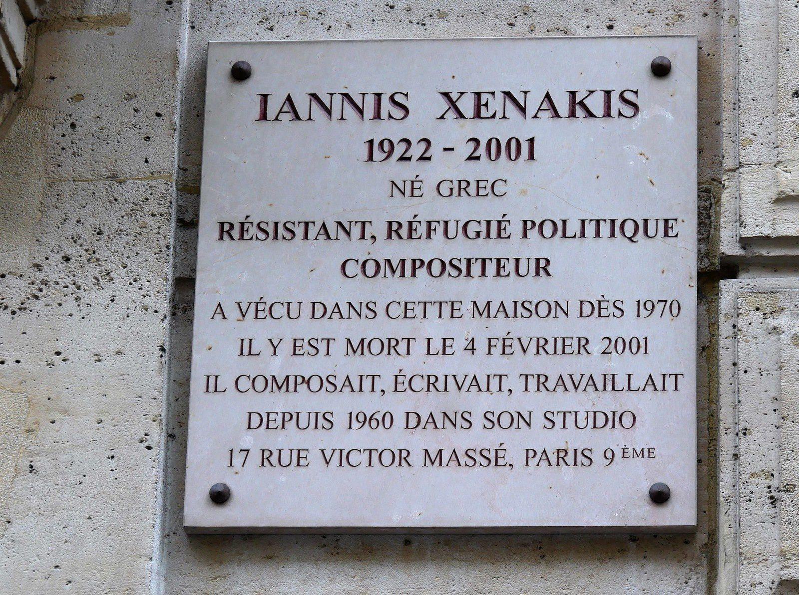 Rue Chaptal. 1ère partie du 1 au 15. Gainsbourg. Xénakis. Fréhel...