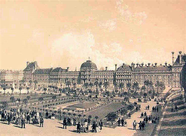 Les Tuileries sous Louis-Philippe.