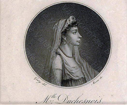 Mademoiselle Duchesnois. Une tragédienne rue de la Tour des Dames.