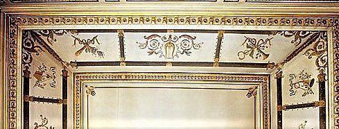 Plafond du salon.