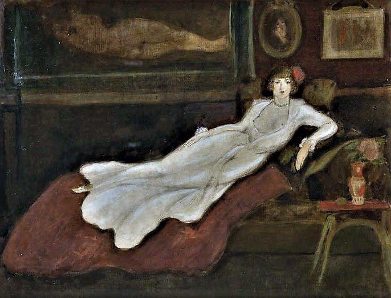 Femme allongée (Bottini)