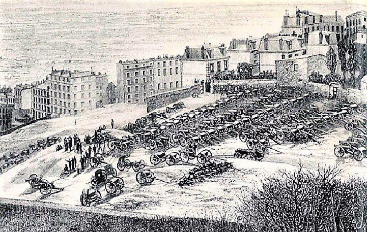 Les canons de Montmartre