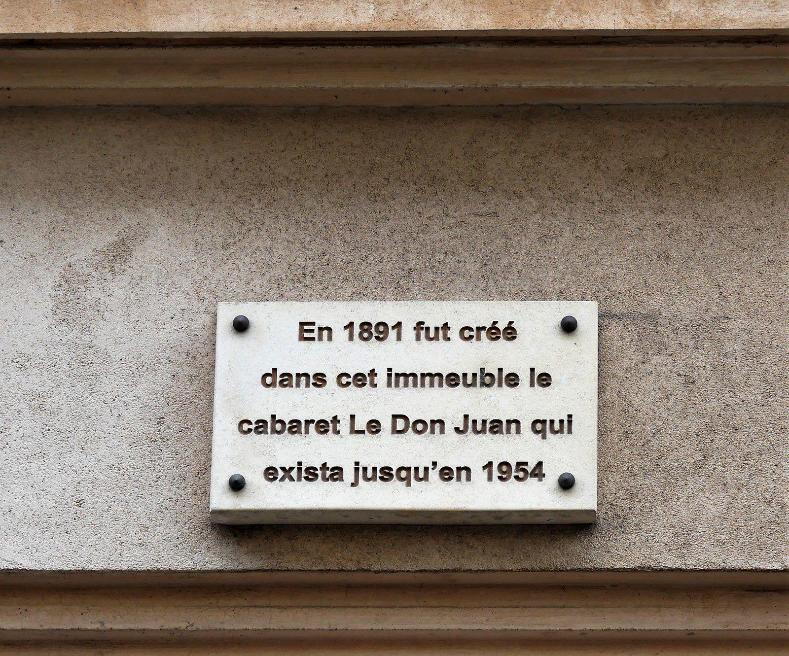 Rue Fromentin. Montmartre.