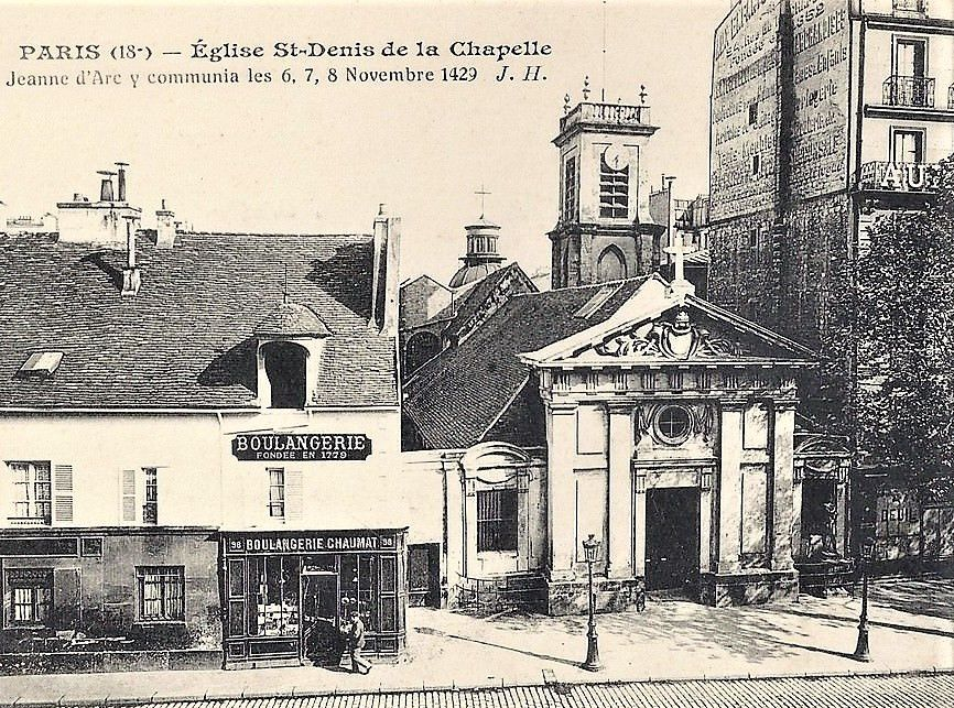 La Chapelle. Eglise Saint-Denis.