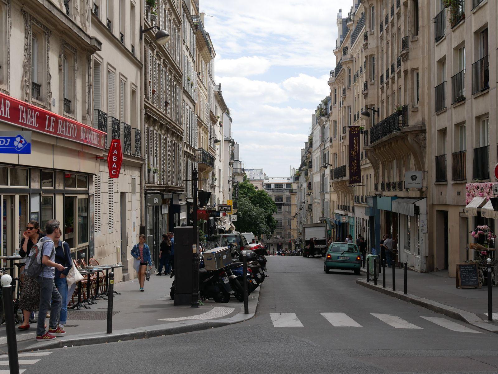 Fin de la rue Henry Monnier