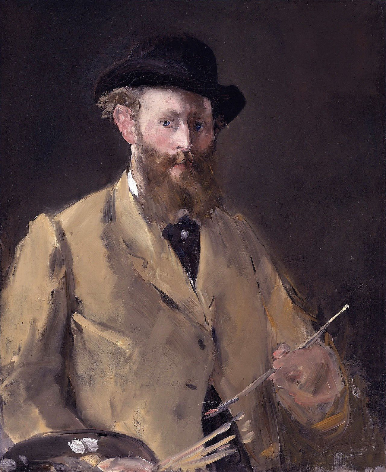 Autoportrait à la palette (1879)