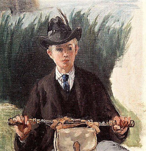 Manet. Portrait de Léon.