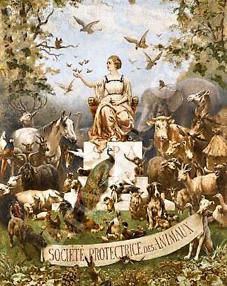 Le Rocher Suisse. Société du Vieux Montmartre. Rue Lamarck et rue Paul Albert.