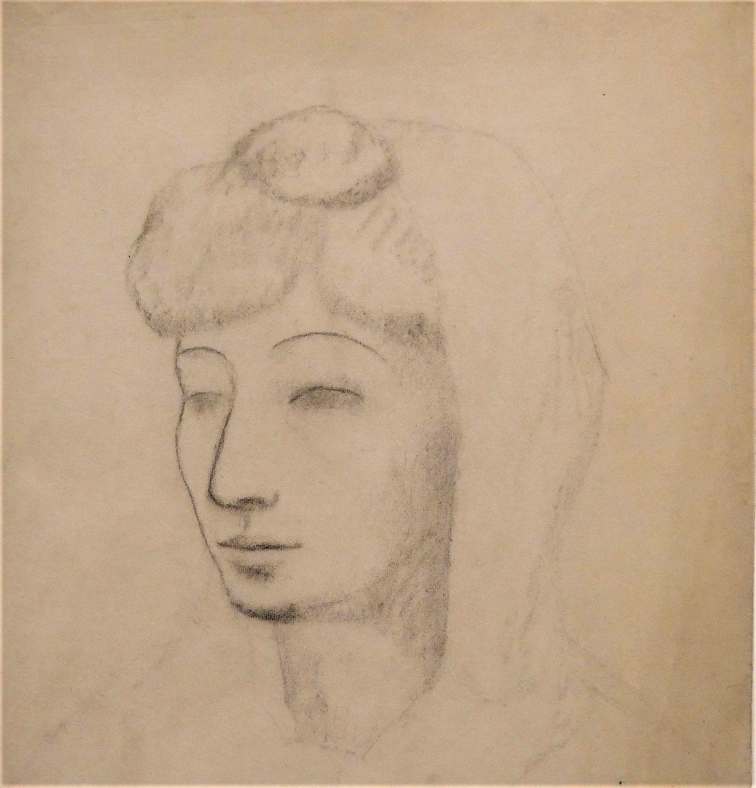 Fernande à la mantille blanche (1906)