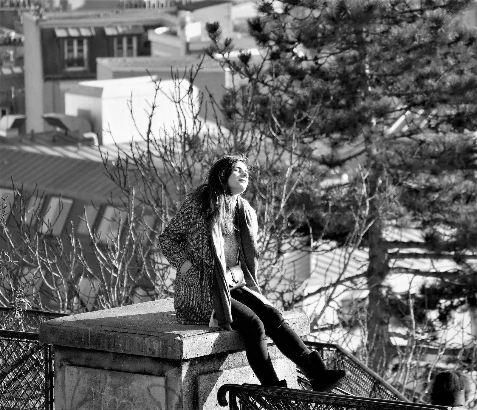 Album. Photos de décembre à Montmartre.
